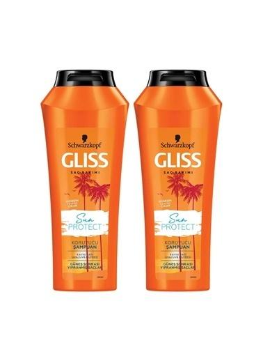 Gliss Gliss Sun Protect Şampuan 500 Ml X 2 Adet Renksiz